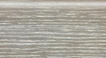 Плинтус шпонированный 022 Дуб дымчатый глянец