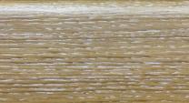 Плинтус шпонированный 023 Дуб копченый белый