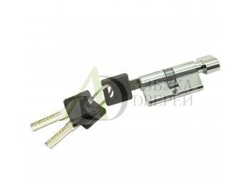 Цилиндр ключ/фиксатор Bravo AРF-60-30/30 C Хром (алюм., 3 ключа)