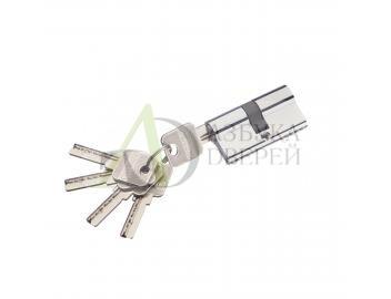 Цилиндр ключ/ключ Bravo AЕK-60-30/30 C Хром (алюм., 5 ключей)