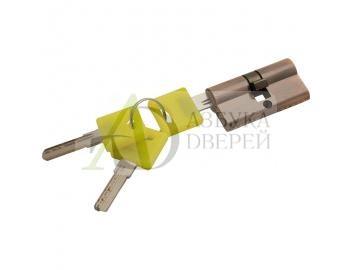 Цилиндр Ключ/ключ Bravo ZK-60-30/30 AC Медь