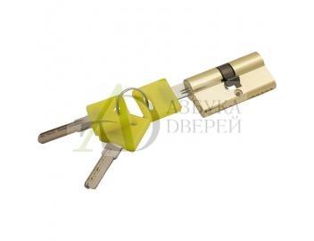 Цилиндр Ключ/ключ Bravo ZK-60-30/30 G Золото