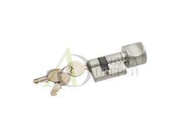 Цилиндр ключ-фиксатор СТ Bravo BF AL Алюминий