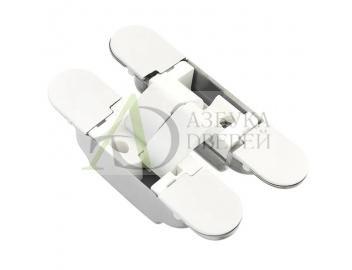 Петля скрытая с 3D регулировкой K1019 Белый