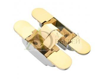 Петля скрытая с 3D регулировкой K1019 Золото