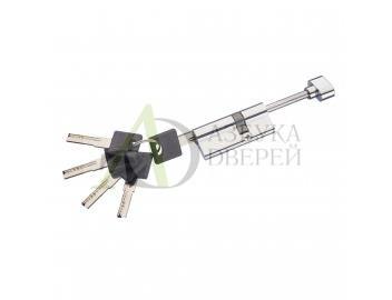 Цилиндр Ключ-фиксатор со штоком Groff AFS-75-45/30 C Хром