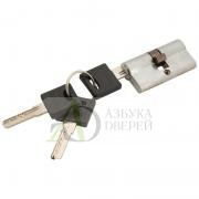 Цилиндр ключ/ключ Bravo ZK-60-30/30 SC МатХром