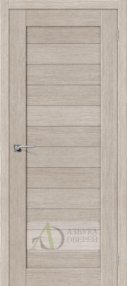 Межкомнатная дверь Финиш Флекс Порта-21 3D Cappuccino