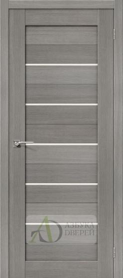 Межкомнатная дверь 3D-graf Порта-22 3D Grey