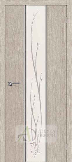 Межкомнатная дверь Финиш Флекс Глейс-2 Twig 3D Cappuccino