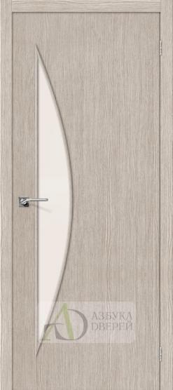 Межкомнатная дверь Финиш Флекс Мастер-6 3D Cappuccino