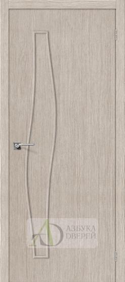 Межкомнатная дверь Финиш Флекс Мастер-7 3D Cappuccino