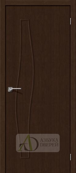 Межкомнатная дверь Финиш Флекс Мастер-7 3D Wenge