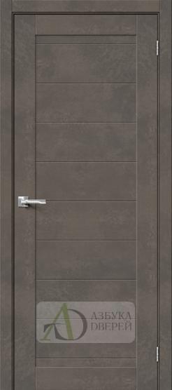 Межкомнатная дверь Хард Флекс Браво-21 Brut Beton