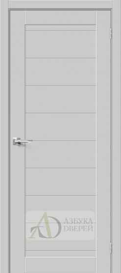 Межкомнатная дверь Хард Флекс Браво-21 Grey Mix