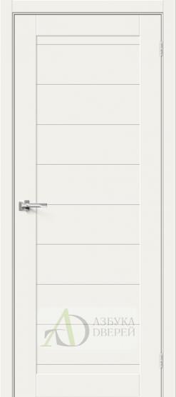 Межкомнатная дверь Хард Флекс Браво-21 White Mix