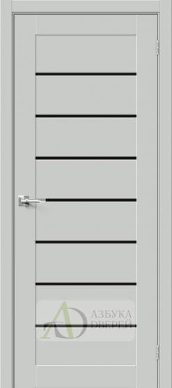 Межкомнатная дверь Хард Флекс Браво-22 BS Grey Mix