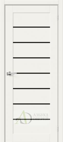Межкомнатная дверь Хард Флекс Браво-22 BS White Mix