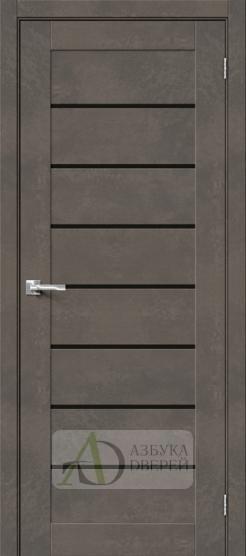 Межкомнатная дверь Хард Флекс Браво-22 BS Brut Beton