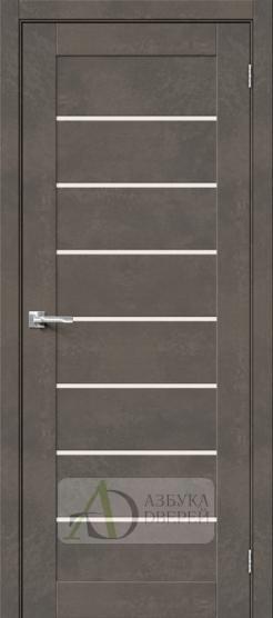 Межкомнатная дверь Хард Флекс Браво-22 MF Brut Beton