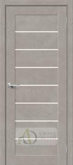 Межкомнатная дверь Хард Флекс Браво-22 MF Gris Beton