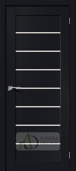 Межкомнатная дверь Хард Флекс Браво-22 MF Black Mix