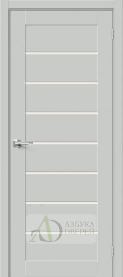 Межкомнатная дверь Хард Флекс Браво-22 MF Grey Mix