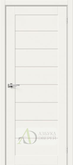 Межкомнатная дверь Хард Флекс Браво-22 MF White Mix