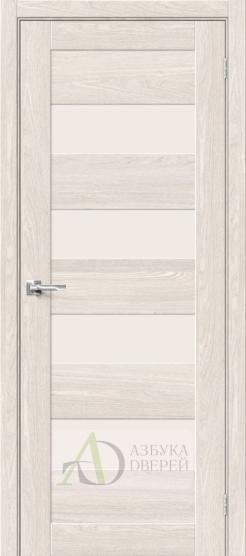 Межкомнатная дверь Хард Флекс Браво-23 MF Ash White
