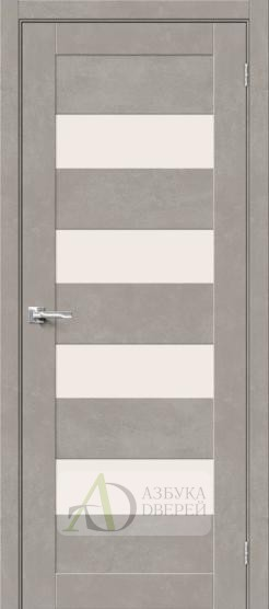 Межкомнатная дверь Хард Флекс Браво-23 MF Gris Beton