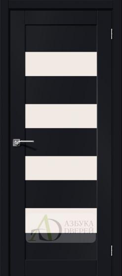 Межкомнатная дверь Хард Флекс Браво-23 MF Black Mix