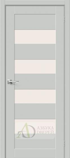 Межкомнатная дверь Хард Флекс Браво-23 MF Grey Mix