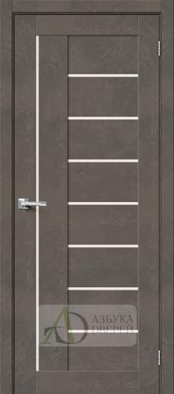 Межкомнатная дверь Хард Флекс Браво-29 MF Brut Beton