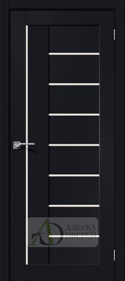 Межкомнатная дверь Хард Флекс Браво-29 MF Black Mix