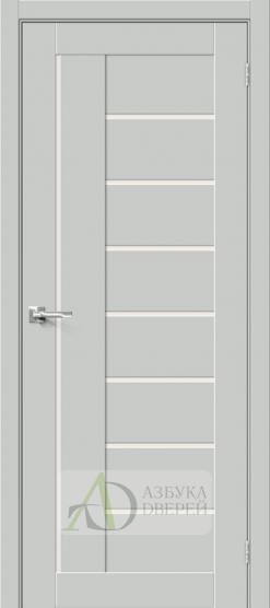 Межкомнатная дверь Хард Флекс Браво-29 MF Grey Mix