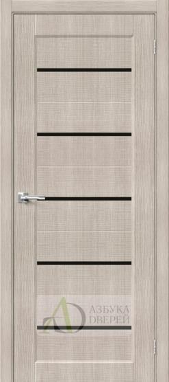 Межкомнатная дверь Хард Флекс Мода-22 BL Cappuccino