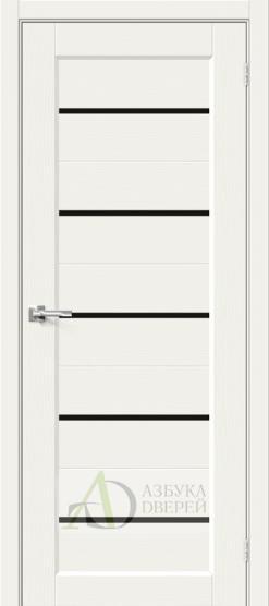Межкомнатная дверь Хард Флекс Мода-22 BL White Mix