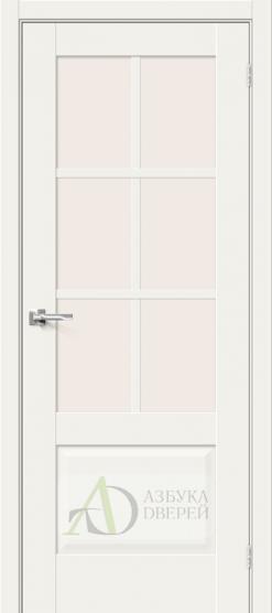 Межкомнатная дверь Hard Flex Прима-13.0.1 White Mix