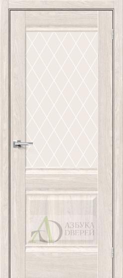 Межкомнатная дверь Хард Флекс Прима-3 Ash White