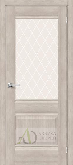 Межкомнатная дверь Хард Флекс Прима-3 Cappuccino