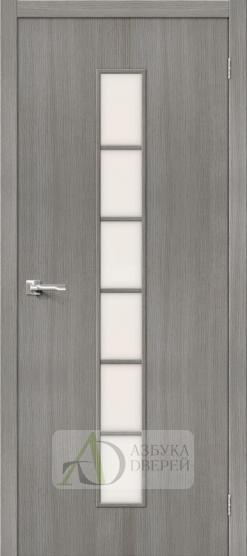 Межкомнатная дверь Финиш Флекс Тренд-12 3D Grey