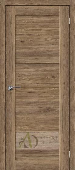 Межкомнатная дверь с экошпоном Легно-21 Original Oak