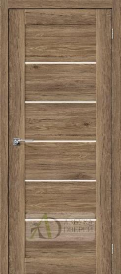 Межкомнатная дверь с экошпоном Легно-22 Original Oak
