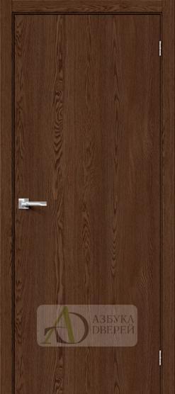 Межкомнатная дверь с экошпоном Браво-0 BrownDreamline