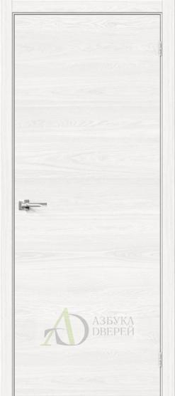 Межкомнатная дверь с Браво-0 White Skyline