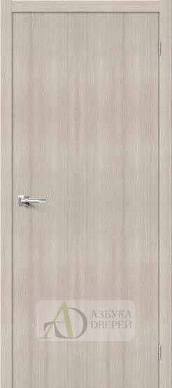 Межкомнатная дверь с экошпоном Тренд-0 Cappuccino Veralinga