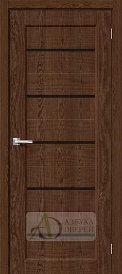 Межкомнатная дверь с экошпоном Мода-22 Black Line BrownDreamline
