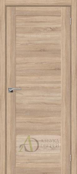 Межкомнатная дверь с Экошпоном Порта-14 ПГ Light Sonoma