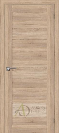 Межкомнатная дверь с Экошпоном Порта-21 ПГ Light Sonoma