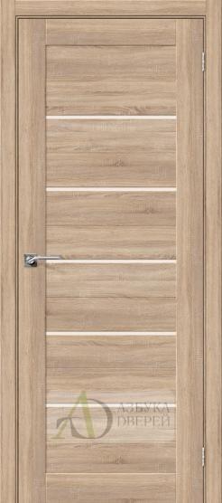 Межкомнатная дверь с Экошпоном Порта-22 ПО Light Sonoma